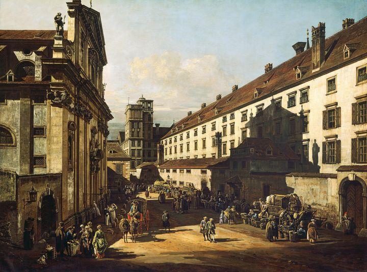 Canaletto, Bernardo Bellotto~Vienna, - Old master image
