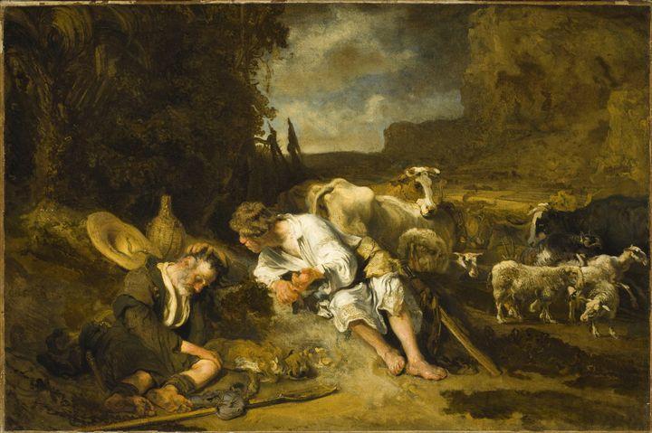 Carel Fabritius~Mercury and Argus - Old master image