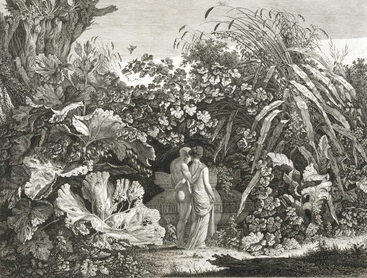 Carl Wilhelm Kolbe~I Too Was in Arca - Old master image