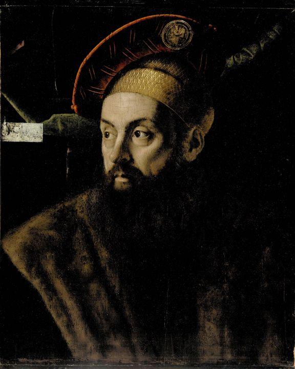 Bartolomeo Veneto~Portrait of a Man - Old master image