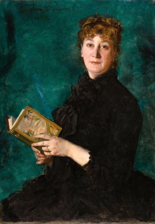 Carolus-Duran~Madame Pauline-Marie-C - Old master image