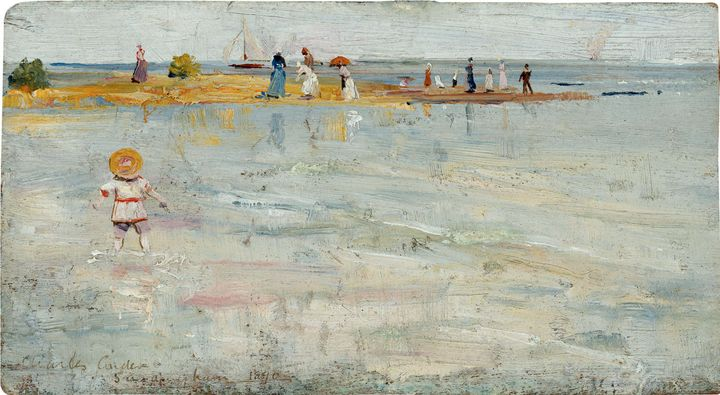 Charles Conder~Ricketts Point, Beaum - Old master image