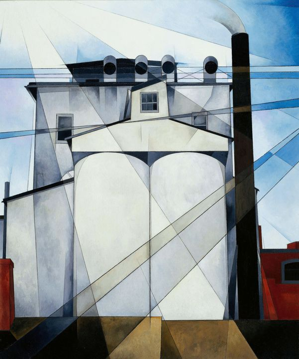 Charles Demuth~My Egypt - Old master image
