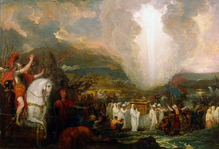Benjamin West~Joshua passing the Riv - Old master image