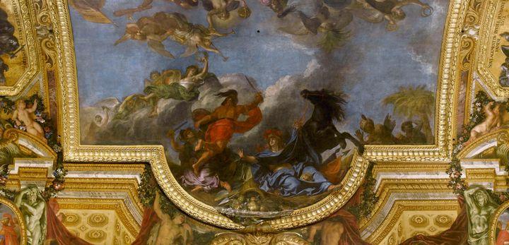 Charles Le Brun~The King takes Maast - Old master image
