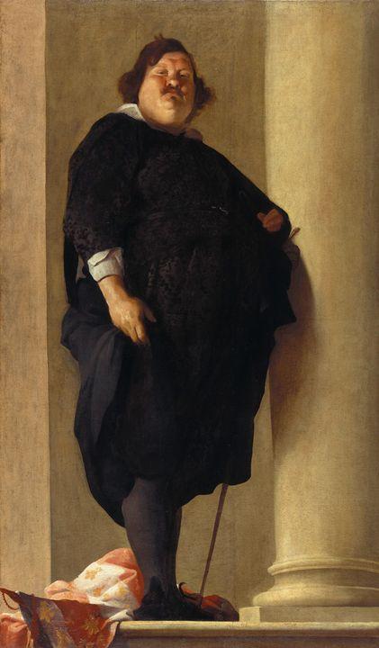 Charles Mellin~Portrait of a Gentlem - Old master image