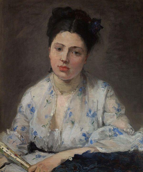 Berthe Morisot~Jeune Femme - Old master image