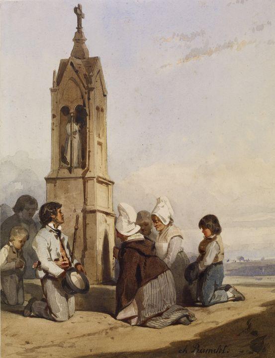 Charles Ramelet (French, 1805-1851)~ - Old master image