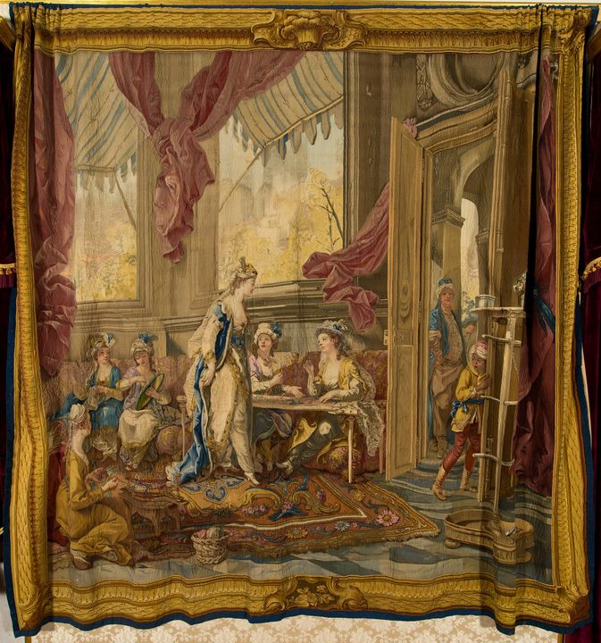 Charles-Amédée-Philippe van Loo~Work - Old master image
