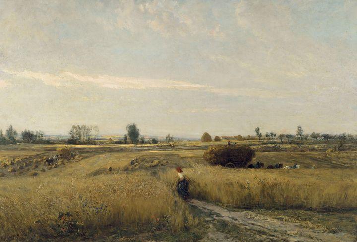 Charles-François Daubigny~Harvest - Old master image