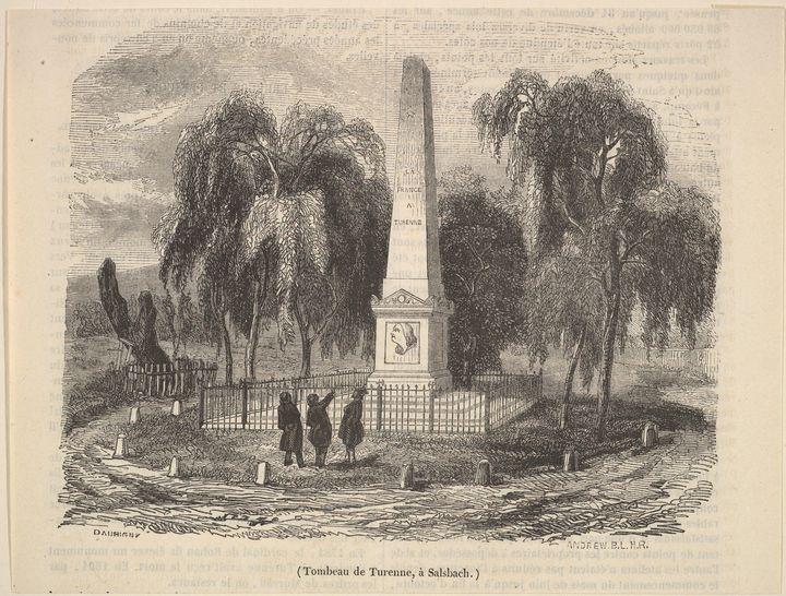 Charles-François Daubigny~Tombeau de - Old master image