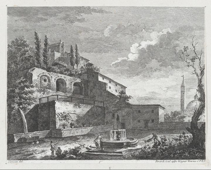 Charles-Louis Clérisseau, Fabio Bera - Old master image