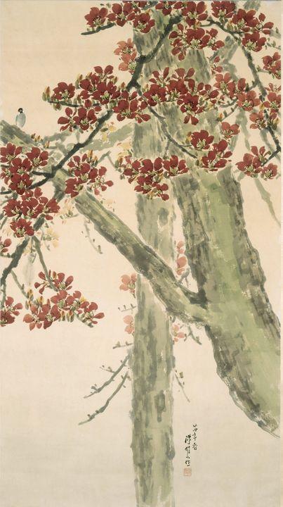 Chen Shuren~Spring in Lingnan - Old master image
