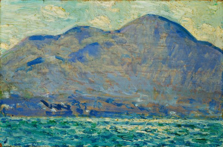 Childe Hassam~Mt. Beacon at Newburgh - Old master image