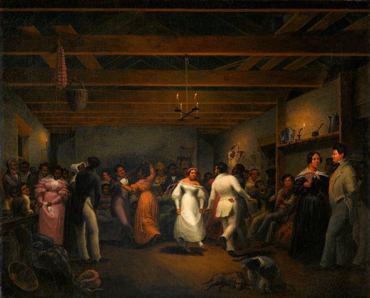 Christian Friedrich Mayr~Kitchen Bal - Old master image