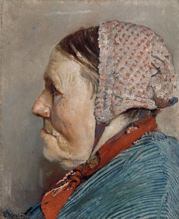 Christian Krohg~Ane Gaihede - Old master image