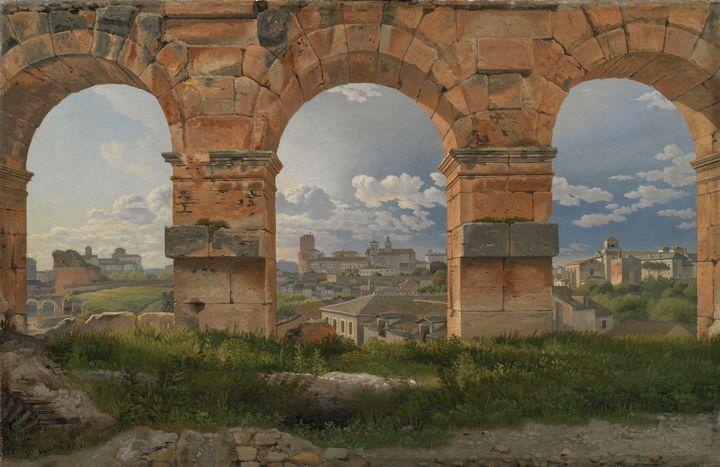 Christoffer Wilhelm Eckersberg~A Vie - Old master image