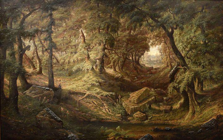 Christopher High Shearer~Schwartzbac - Old master image