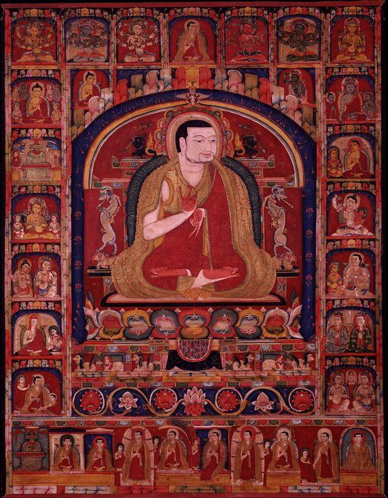 14th century~Pagmodrupa Dorje Gyalpo - Old master image
