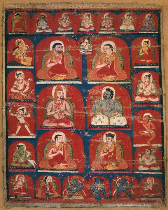 14th century~Taglung Lineage Teacher - Old master image