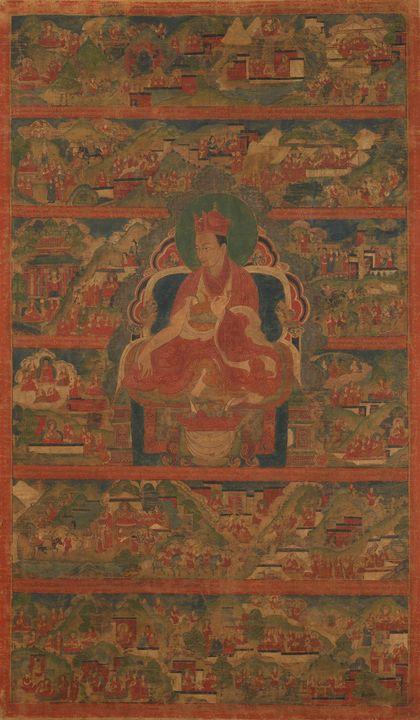 16th century~Sharmapa Lama, Chodag Y - Old master image