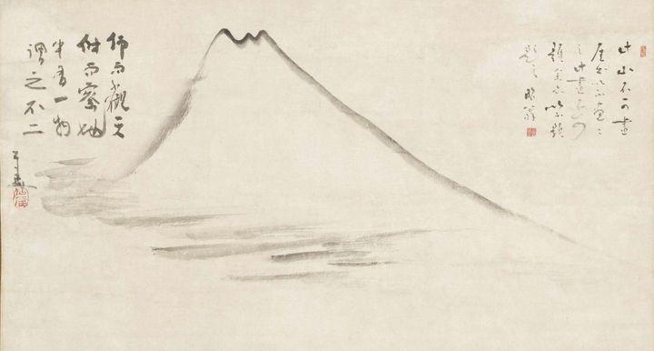 18th century~Mount Fuji - Old master image
