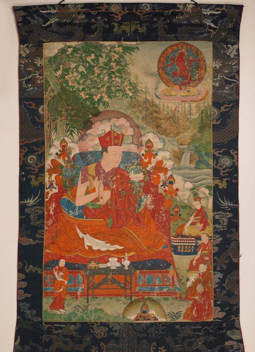 18th century~Sixth Shamar Mipam Chok - Old master image