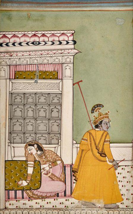 18th century~Untitled (Kishnar depar - Old master image
