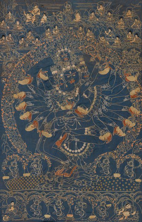 19th century~Hevajra - Old master image