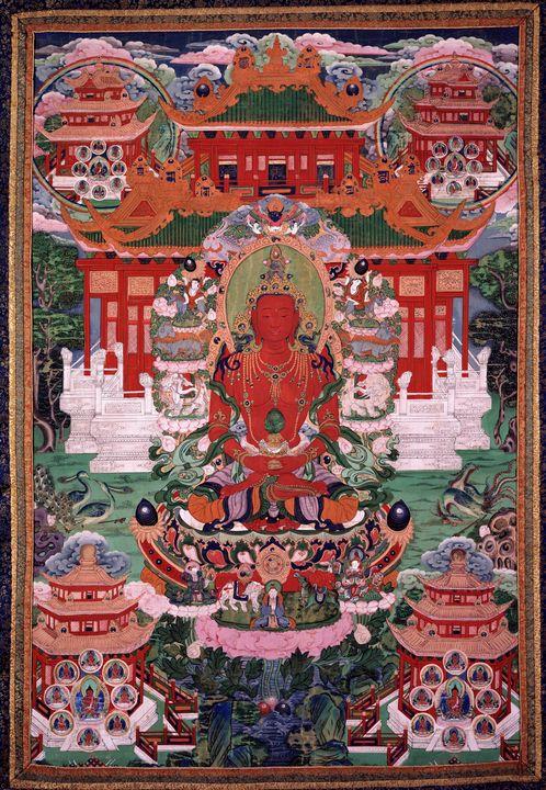 2nd half of the 18th century~Buddha - Old master image