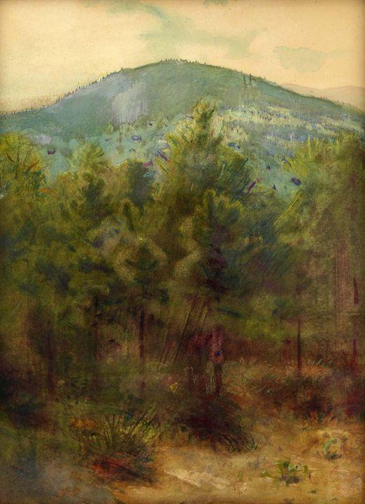 Abbott Handerson Thayer~Monadnock Mo - Old master image