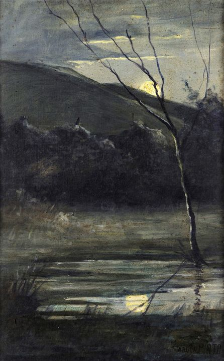 Abdon Pinto (Ca.1890 - 1918)~Nocturn - Old master image