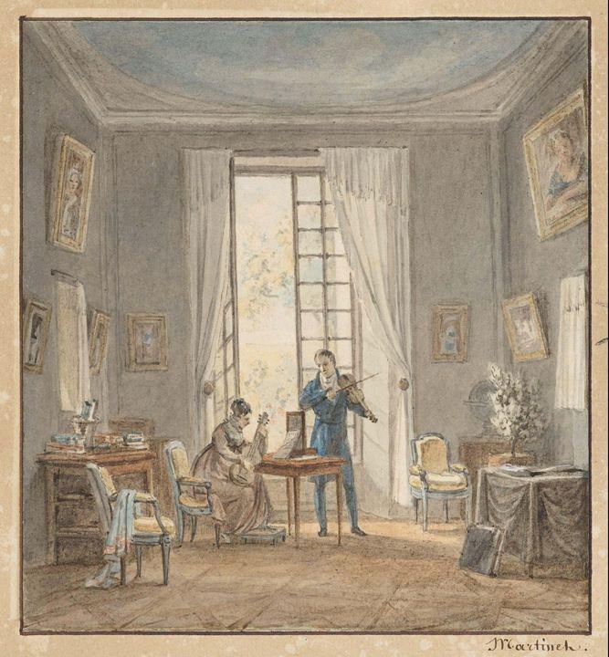 Achille-Louis Martinet, Louis Martin - Old master image