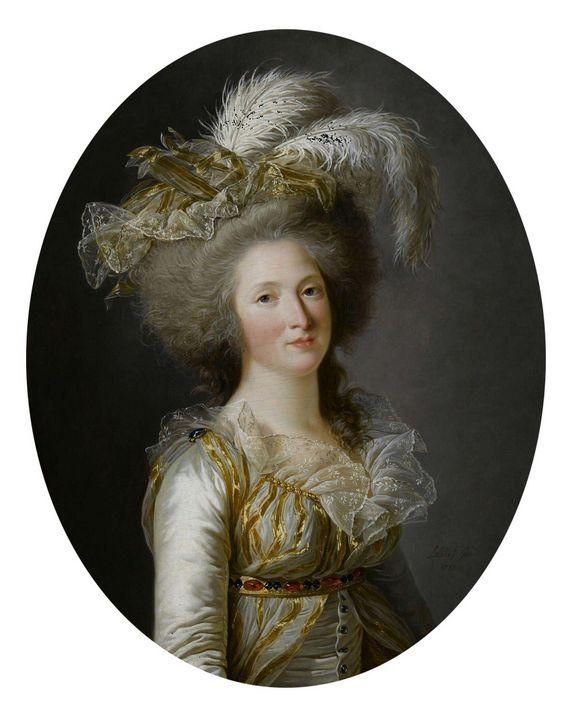 Adelaide Labille-Guiard~Elisabeth-Ph - Old master image