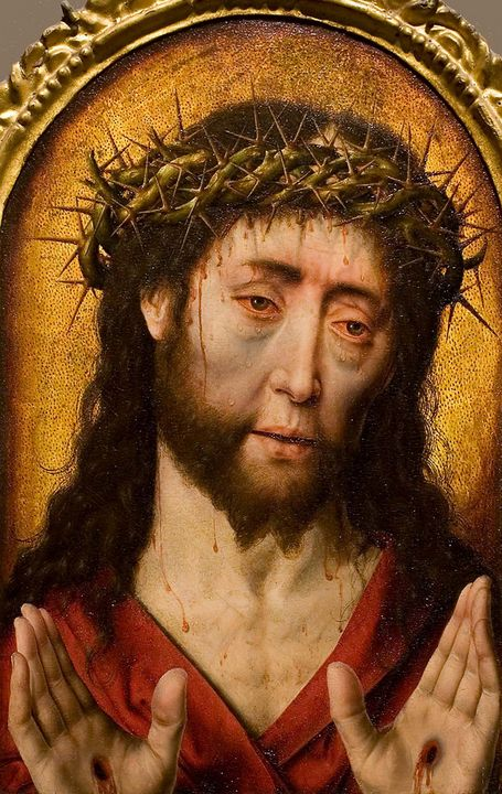 Aelbrecht Bouts~Christ as a Man of S - Old master image