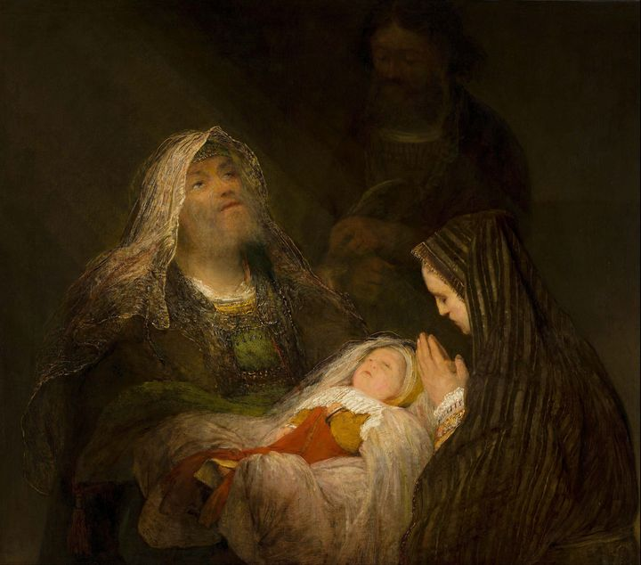 Aert de Gelder~Simeon's Song of Prai - Old master image