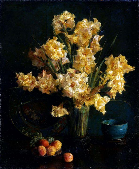 Albert Herter (1871-1956)~Still Life - Old master image