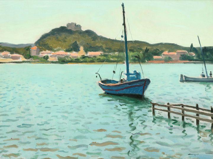 Albert Marquet~Blue Boat at Porquero - Old master image