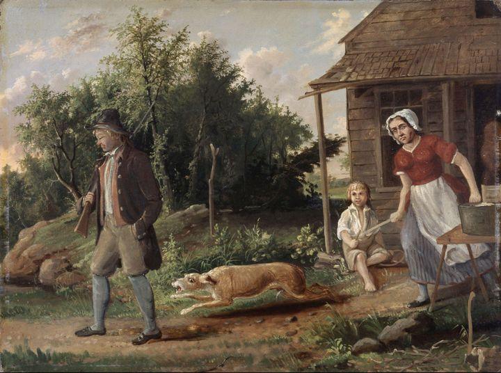Albertus Del Orient Browere (1814-18 - Old master image