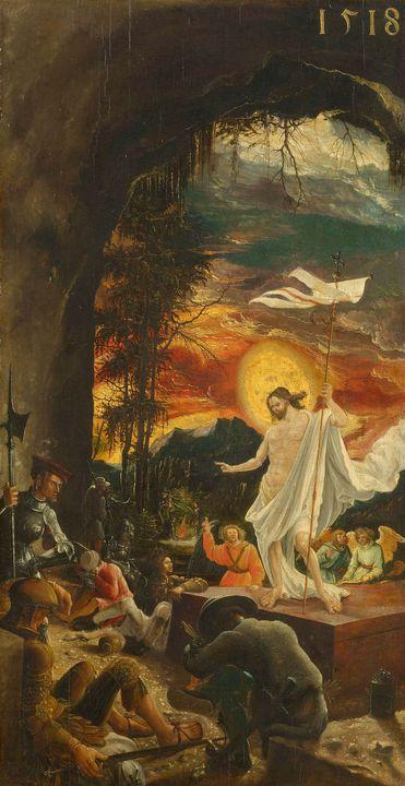 Albrecht Altdorfer~The Resurrection - Old master image