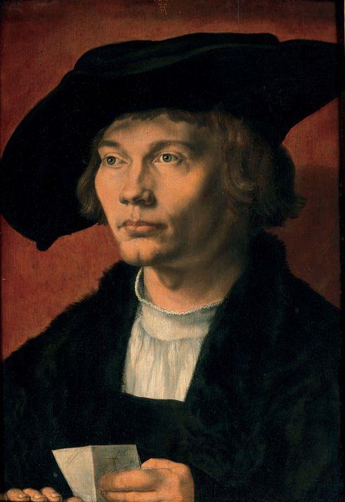 Albrecht Durer~Portrait of Bernhard - Old master image