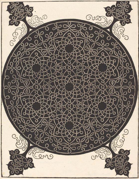Albrecht Durer~The Sixth Knot (combi - Old master image