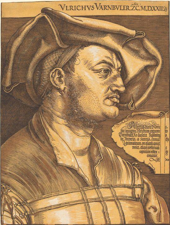 Albrecht Durer~Ulrich Varnbuler - Old master image