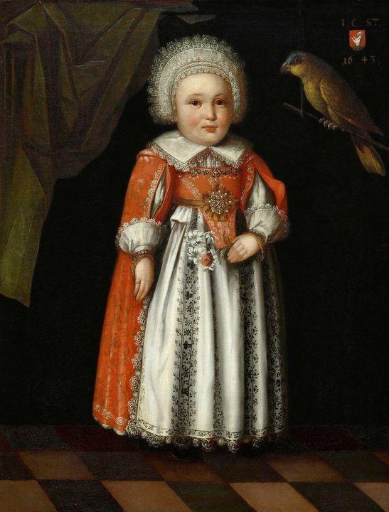 Albrecht Kauw~Johanna Katharina Stei - Old master image