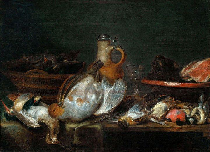 Alexander Adriaenssen~Still life - Old master image