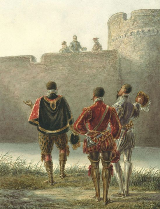 Alexander Ver Huell~Spanish negotiat - Old master image