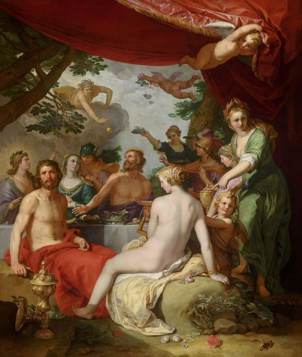 Abraham Bloemaert~The Feast of the G - Old master image