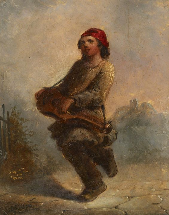 Alfred Jacob Miller (American, 1810- - Old master image