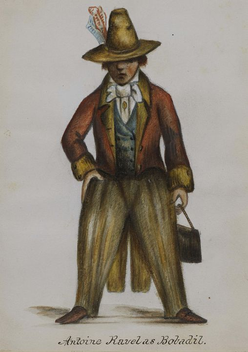 Alfred Jacob Miller~Antoine Ravel as - Old master image