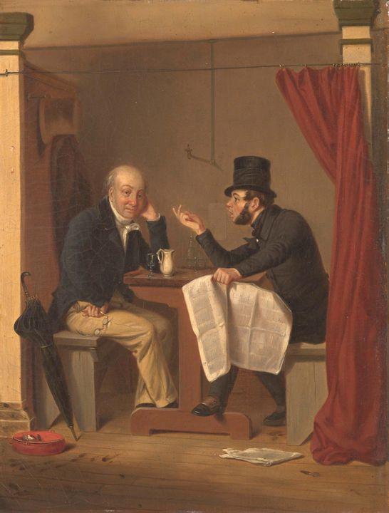 After Richard Caton Woodville (Ameri - Old master image